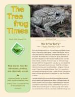 Treefrog Times - Mar-B-2020