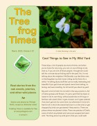 Treefrog Times - Mar2020